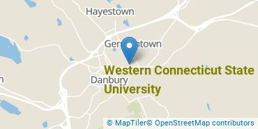 Location of Western Connecticut State University
