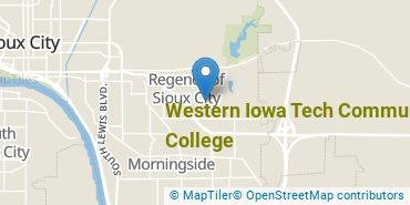 Location of Western Iowa Tech Community College