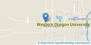 Location of Western Oregon University