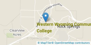 Location of Western Wyoming Community College