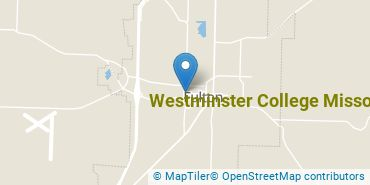 Location of Westminster College Missouri