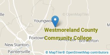 Location of Westmoreland County Community College