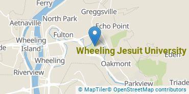 Location of Wheeling Jesuit University