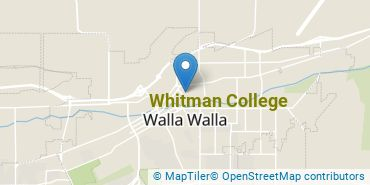 Location of Whitman College