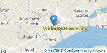 Location of Widener University