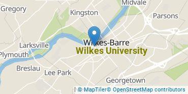 Location of Wilkes University