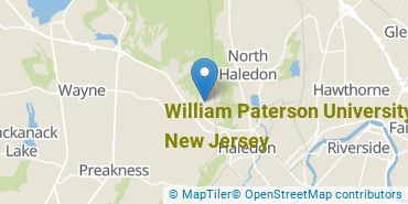 Location of William Paterson University of New Jersey