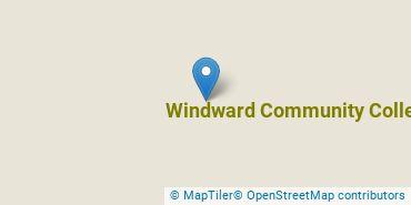 Location of Windward Community College