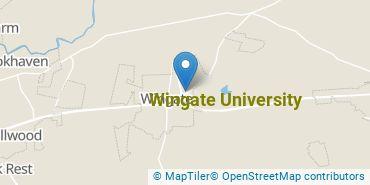 Location of Wingate University