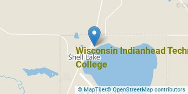 Location of Wisconsin Indianhead Technical College