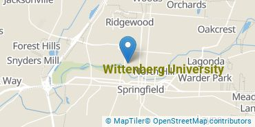 Location of Wittenberg University