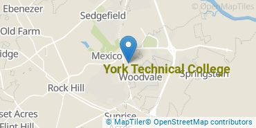 Location of York Technical College