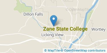 Location of Zane State College