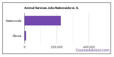 Animal Services Jobs Nationwide vs. IL