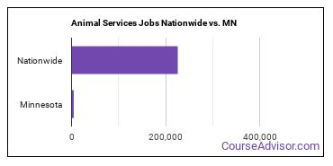 Animal Services Jobs Nationwide vs. MN