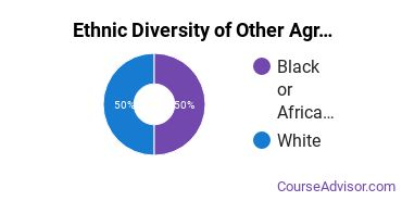Other Agriculture Majors in MS Ethnic Diversity Statistics