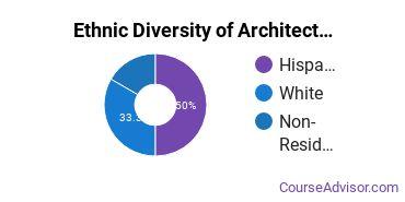 General Architecture Majors in UT Ethnic Diversity Statistics