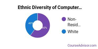 Computer Software Applications Majors in AL Ethnic Diversity Statistics