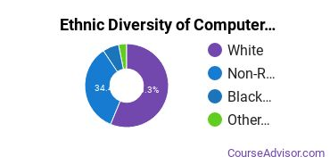 Computer Systems Analysis Majors in PA Ethnic Diversity Statistics