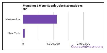 Plumbing & Water Supply Jobs Nationwide vs. NY