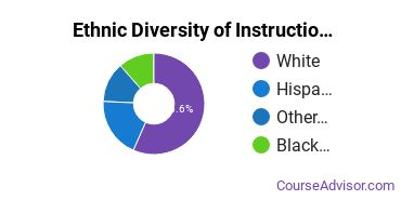 Instructional Media Design Majors in AZ Ethnic Diversity Statistics