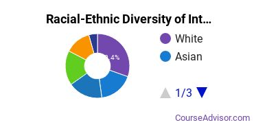 Racial-Ethnic Diversity of International Ed Students with Bachelor's Degrees