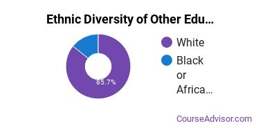 Other Education Majors in WV Ethnic Diversity Statistics