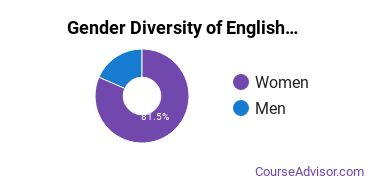 Teaching English or French Majors in NE Gender Diversity Statistics