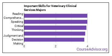 Important Skills for Veterinary Clinical Services Majors
