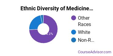 Medicine Majors in HI Ethnic Diversity Statistics