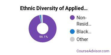 Applied Mathematics Majors in LA Ethnic Diversity Statistics