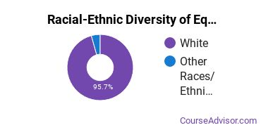 Racial-Ethnic Diversity of Equipment Maintenance Students with Bachelor's Degrees