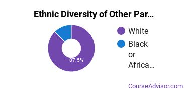 Other Parks & Recreation Studies Majors in IL Ethnic Diversity Statistics