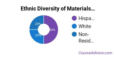 Materials Sciences Majors in FL Ethnic Diversity Statistics