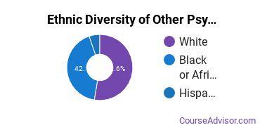 Other Psychology Majors in LA Ethnic Diversity Statistics