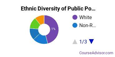 Public Policy Majors in NJ Ethnic Diversity Statistics