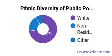 Public Policy Majors in VT Ethnic Diversity Statistics