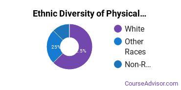 Physical Science Technicians Majors in DE Ethnic Diversity Statistics