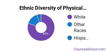 Physical Science Technicians Majors in MI Ethnic Diversity Statistics