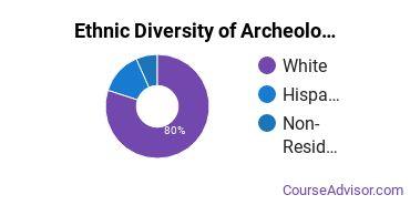 Archeology Majors in UT Ethnic Diversity Statistics