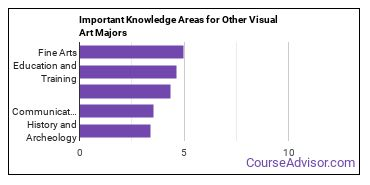 Important Knowledge Areas for Other Visual Art Majors
